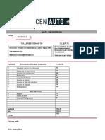 cotizacion  tio eliseo reparacion motor 29-11-2019