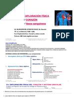 Explorac Corazón y sist vascular 22 Mayo 20-22 2020