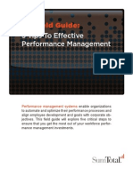 5 Tips To Effective Workforce Performance Management