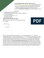 Induction Motor Braking Regenerative Plugging Dynamic Braking of Induction Motor
