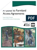Land Access Agreements