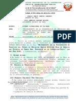 Informe Nro. 001INFORME ESTADO