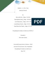 Unidades 1, 2 y 3 Post - Tarea - Evaluación Nacional