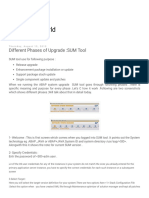 SAP Basis World_ Different Phases of Upgrade _SUM Tool
