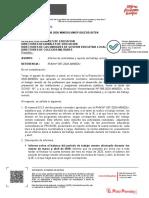 OM. 00040-2020-MINEDU-VMGP-DIGEDD-DITEN_Informe de actividades y reporte del trabajo remoto-