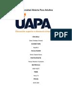 Universidad Abierta Para Adultos. Trea VI de Español
