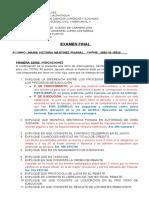 EXAMEN FINAL DE DERECHO PROCESAL CIVIL Y MERCANTIL.docx