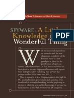 Spyware a Little Knowledge