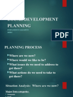 LOCAL DEVELOPMENT PLANNING PPT
