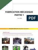 FABRICATION MECANIQUE PARTIE1.ppsx