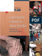 Capacitación Laboral en Áreas Rurales