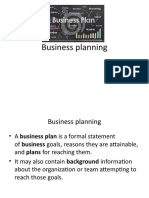 1.Business planning- Defi & forms