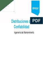 Unidad II - Distribuciones de confiabilidad (1)
