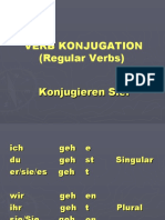 German Verb Konjugation