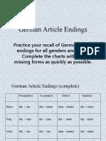 German-Article-Endings-practice