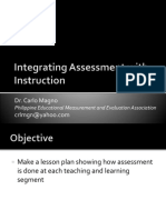 Integrating Assessment with Instruction