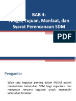 Bab 4 Syarat Perencanaan SDM.ppt