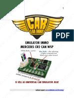 Mercedes CR2 CAN WSP en