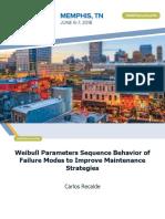 Weibull Parameters Sequence Behavior of Failure Modes to Improve Maintenance Strategies.pdf