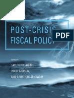 Carlo Cottarelli, Philip Gerson, Abdelhak Senhadji - Post-crisis Fiscal Policy (2014, The MIT Press) - libgen.lc.pdf