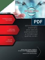 Sinus PRO cégbemutatkozó