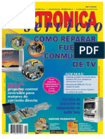 Reparar fuentes conmutadas de TV