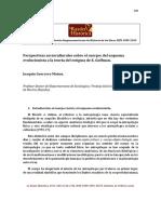 Perspectivas socioculturales sobre el cuerpo- del esquema evolucionista a la teoría del estigma de E. Goffman