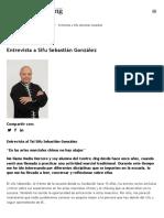 Entrevista a Sifu Sebastián González