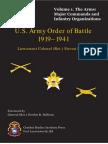 US Army WW1 Ord Battle Vol1