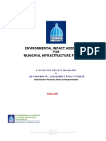 ENVIRONMENTAL IMPACT ASSESSMENT FOR MUNICIPAL INFRASTRUCTURE