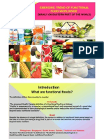 Functional Food in Eastern Part of the World