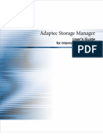 Adaptec Storage Manager Users Guide for Internal RAID 09 06