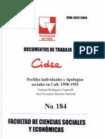 DOCUMENTO DE TRABAJO No.184 JFS.