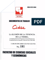 DOCUMENTO DE TRABAJO No. 181-2019