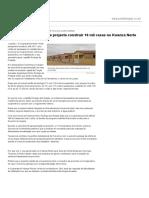 Cooperativa Pérola Verde projecta construir 16 mil casas no Kwanza Norte - Reconstrução Nacional - Angola Press - ANGOP