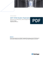 Back and Restore for HANA system relication