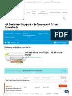 HP DeskJet Ink Advantage 2135 All-in-One Printer - Driver Downloads _ HP® Customer Support