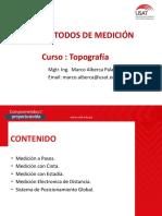METODOS DE MEDICIÓN - SESION 2