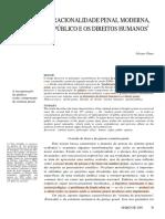 A racionalidade Penal moderna, o público e os direitos humanos - Álvaro Pires.pdf