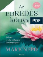 Mark Nepo - AZ ÉBREDÉS KÖNYVE