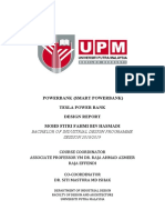 DESIGN REPORT POWERBANK