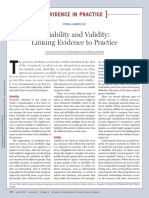 08 Reliability and Validity
