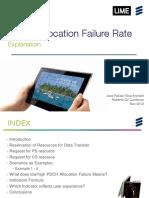 PDCH Allocation Failure Rate Explanation