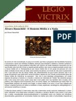LEGIO VICTRIX_ Álvaro Hauschild - O Homem Médio e o Nada