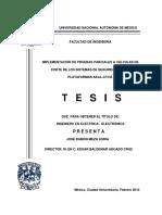 implementacion de pruebas parciales en valvulas de corte