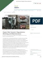 Hyper Mist System_ Regulations, Working and Maintenance