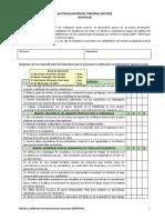 AUTOEVALUACIÓN_Evaluación Docente