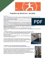 2 Yogaprogramm