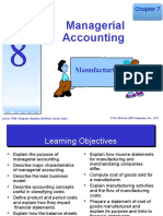 Topic 8  A181 - Managerial Accounting