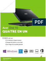 Acer One S1003-198H - Noir - NT.LCQEF.013